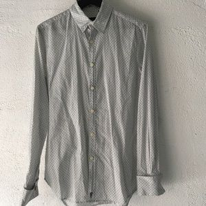 Paul Smith Men's Patterned Dress Shirt Size S